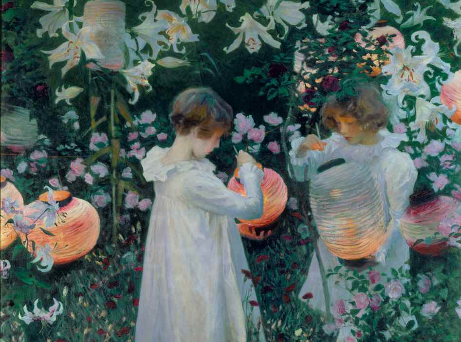 John Singer Sargent Lily lily rose cropped